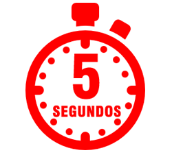 Solo 5 segundos